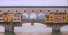 """""""Ponte Vecchio"""", Dipinto ad olio su legno, misure 32 x 59 cm, Anno 2011 di Maurizio Ciccani"""