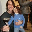 """Maurizio Ciccani riceve il premio """"Maestro d'Arte"""" Comune di Roma Capitale Dicembre 2012"""