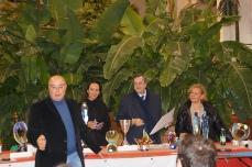 Premiazione di: Silvio Melini - Consiglio Regionale del Lazio - Premia Rinascita Artistica