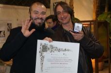 Maurizio Ciccani - Premiazione Consiglio Regionale del Lazio